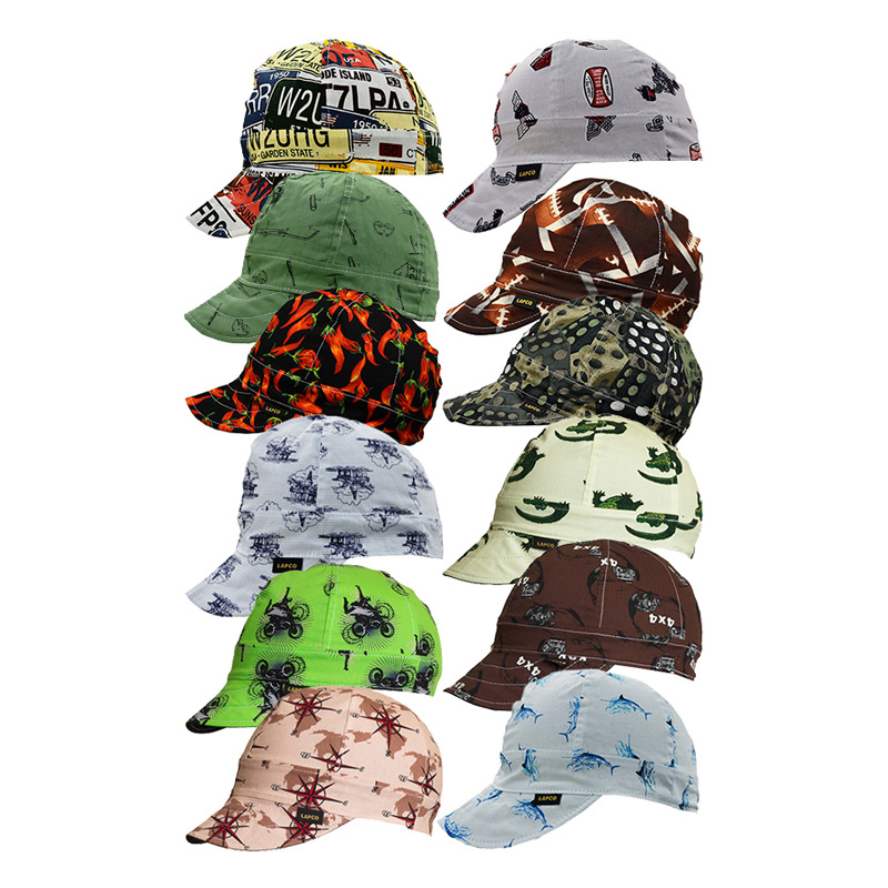 6-Panel Welding Caps | 100% Cotton