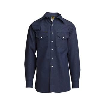 10oz. Heavy-Duty Welding Shirts | Non-FR | Denim 100% Cotton