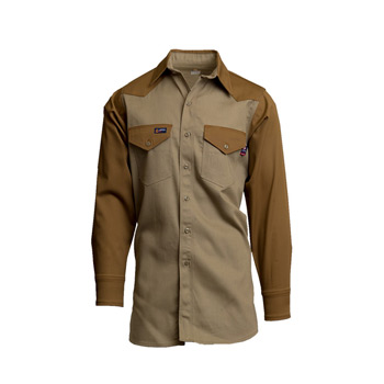 7oz. FR Two-Tone Western Shirts | 100% Cotton